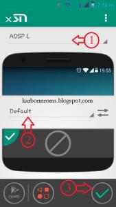 Android L Statusbar