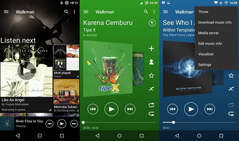 Sony Xperia Walkman App