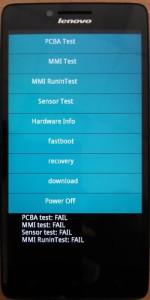 Lenovo A6000 Download mode