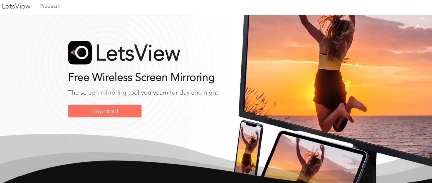 letsview - mirroring app