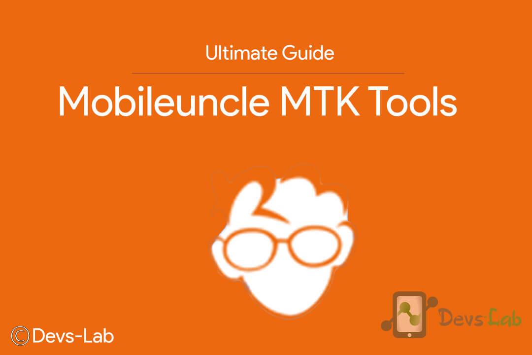 Mobileunble MTK Tools
