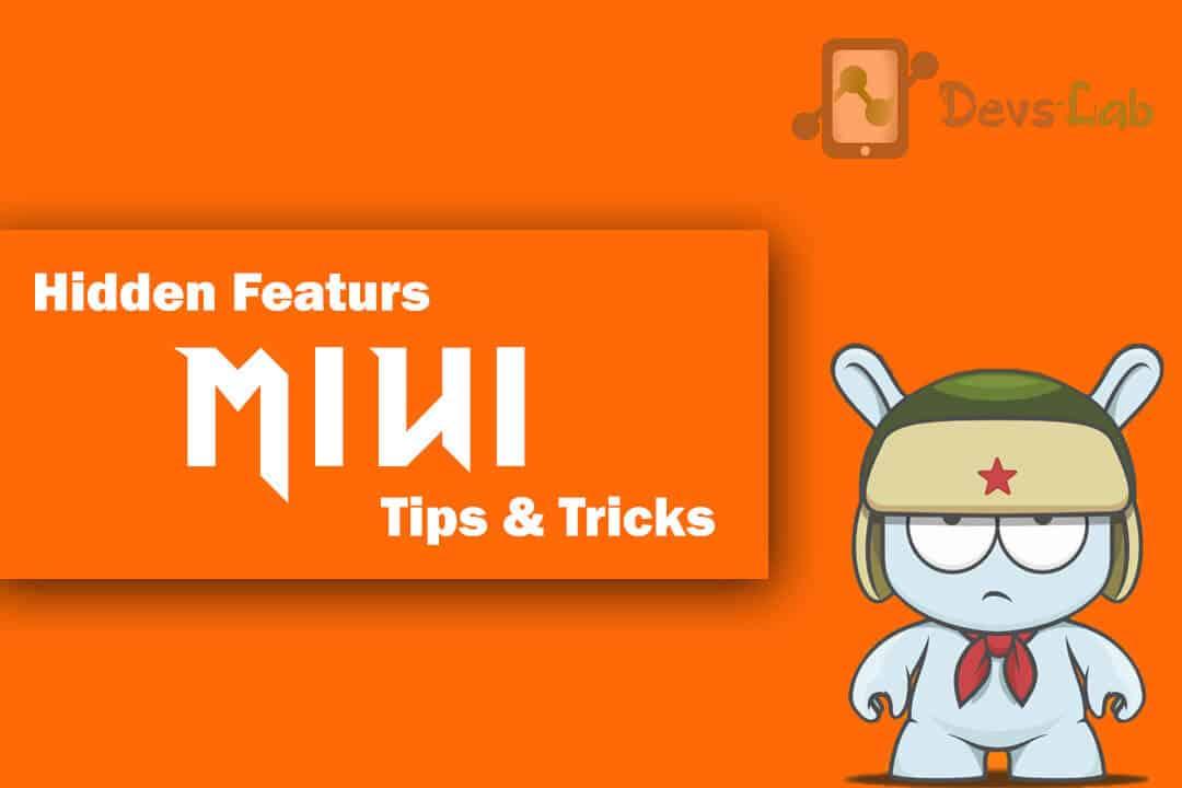 MIUI Hidden features, tips & tricks