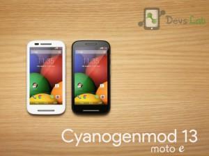 Cyanogenmod 13 CM 13 Custom ROM for Motorola Moto E 2014