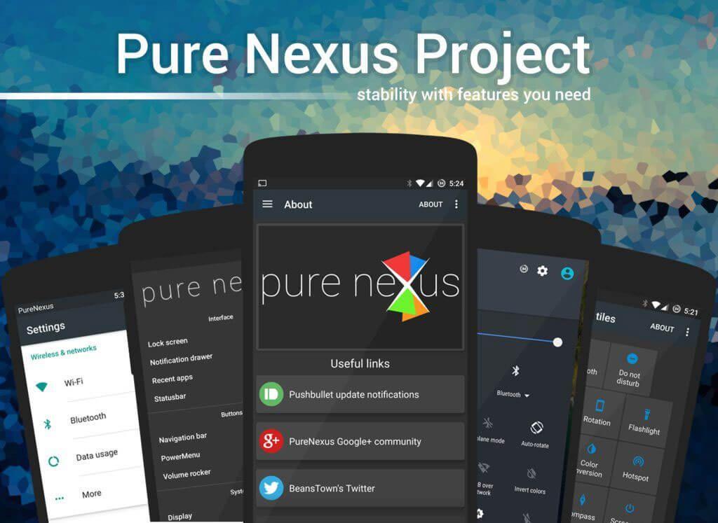 PureNexus ROM for Google Nexus 6P