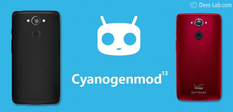 Download CM 13 ROM for Moto MAXX XT1225 / Droid Turbo XT1254