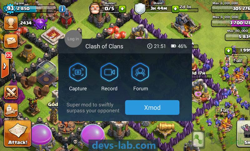 XMOD Clash of clan