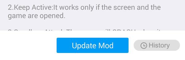 XMOD Mod update error fix