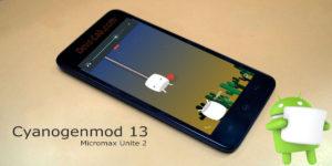 CM13 ROM for Micromax Unite 2