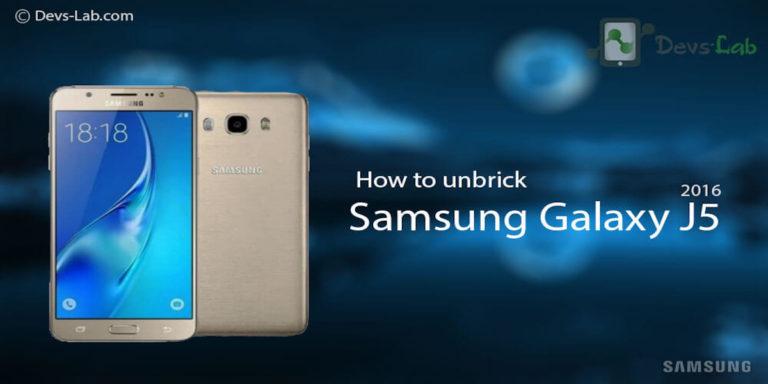 How To Unbrick Dead Samsung Galaxy J5