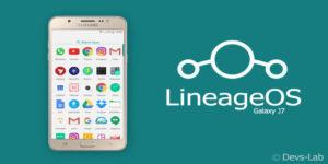 LineageOS ROM for Samsung Galaxy J7