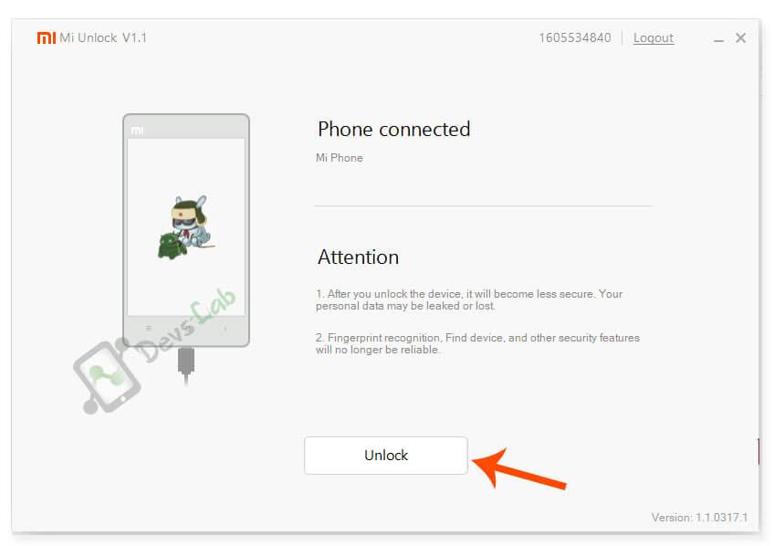 Unlocking Bootloader on Redmi Note 4