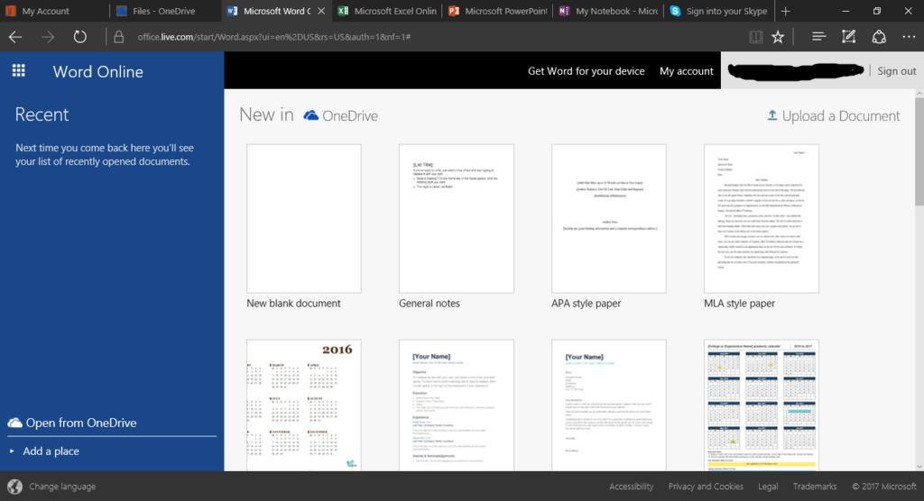 Microsoft Office Genuine word