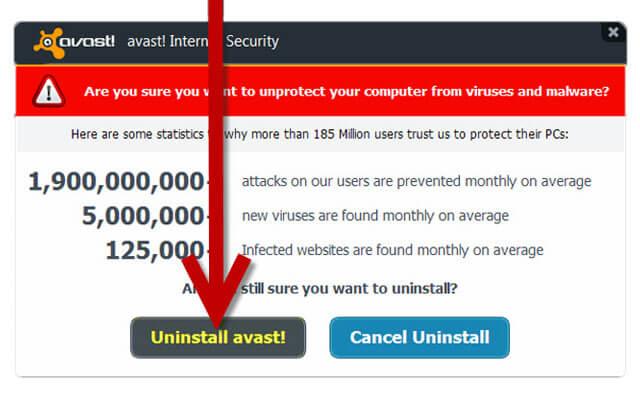 Uninstalling Antivirus - How to fix Windows 10 Freezing issue