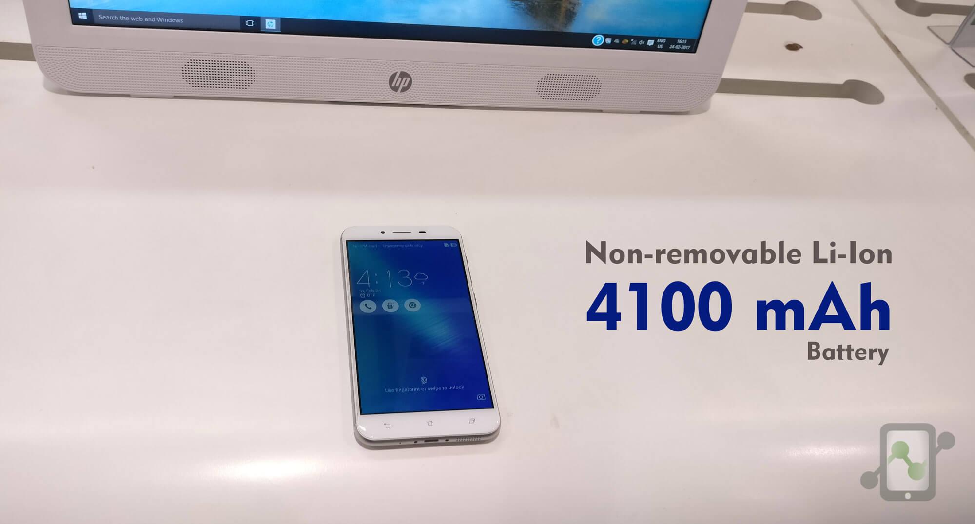 Asus Zenfone 3 Max 4100mAh battery