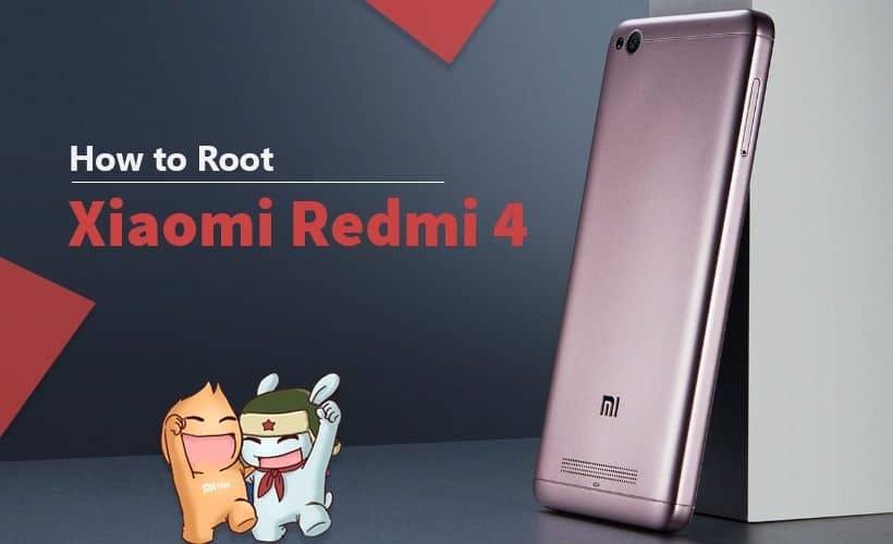 How to Root Xiaomi Redmi 4