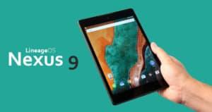 LineageOS ROm for Nexus 9