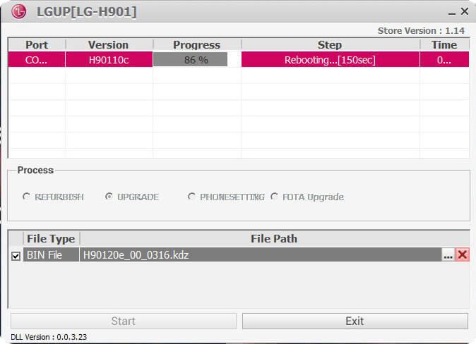 LGUP LG Firmware Flashing Tool Download Latest version