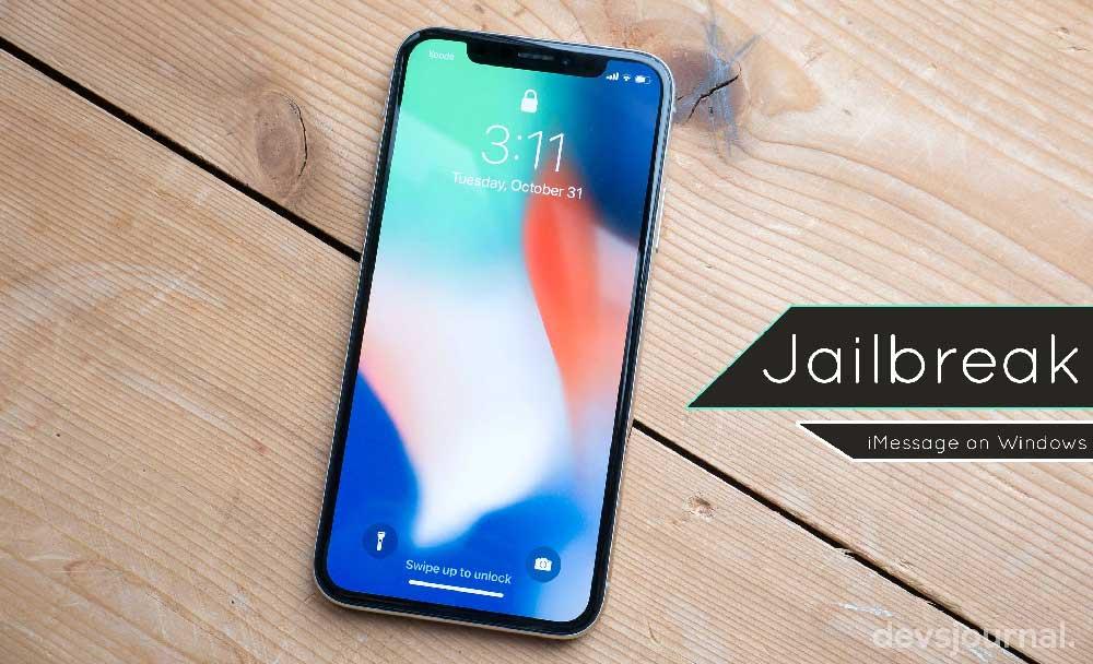 Jailbreak iPhone iPad to use iMessage on Windows