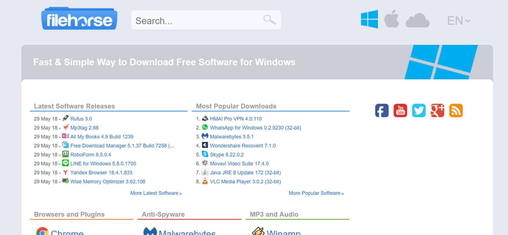 FileHorse download files