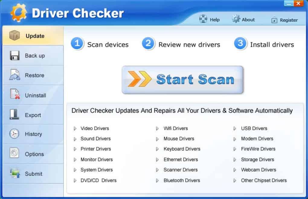 Driver checker free driver updater windows 10