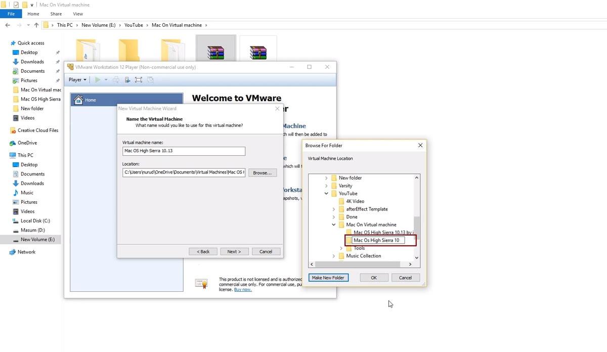 Install MacOS using VMWare Tools