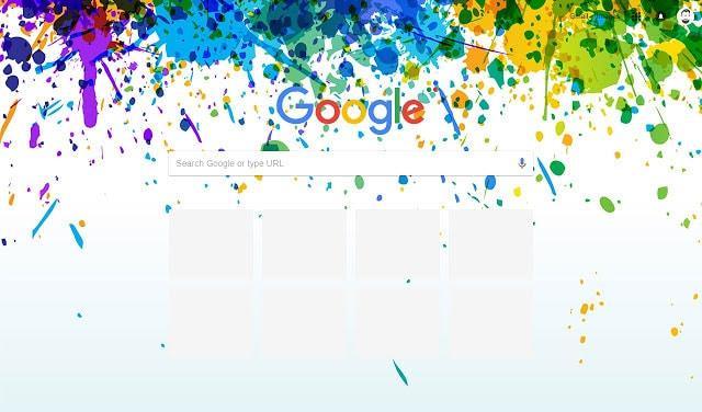 Colors Google Chrome theme