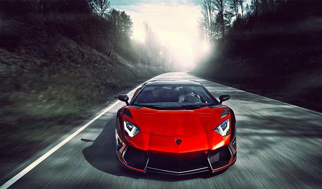 Lamborghini Cherry Chrome dark themes