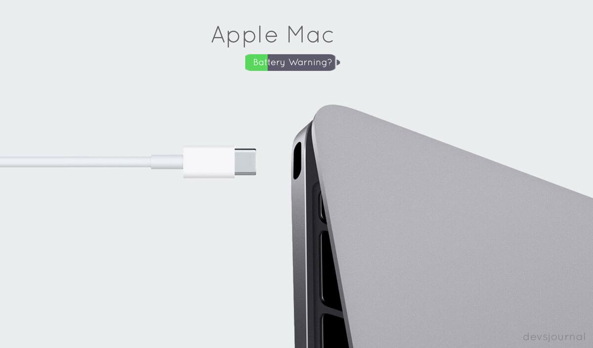 Recalibrating the battery in Macbook