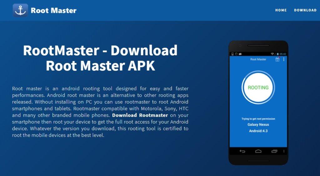 Root Master app