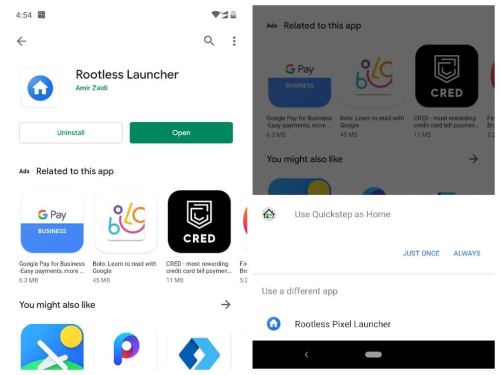 Download Rootless Pixel Launcher
