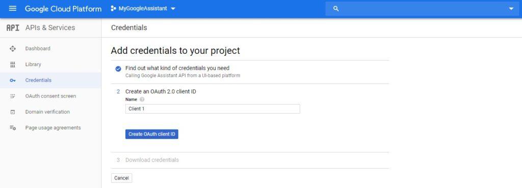 Google Assistant on Windows 10