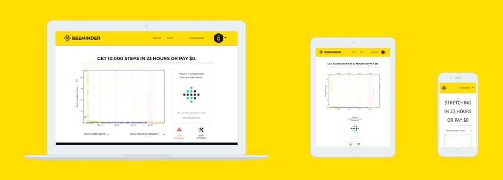 beeminder - best habit tracking app