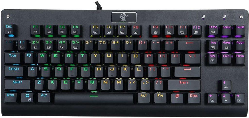 huo ji e-element z-77 mechanical gaming keyboard