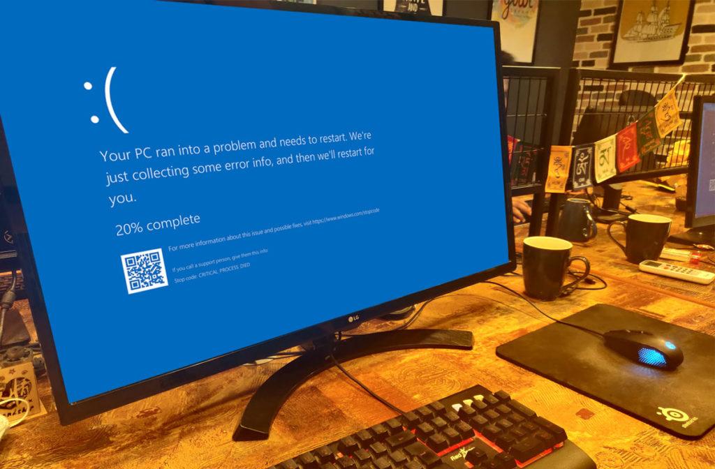 Driver Overran Stack Buffer in Windows 10