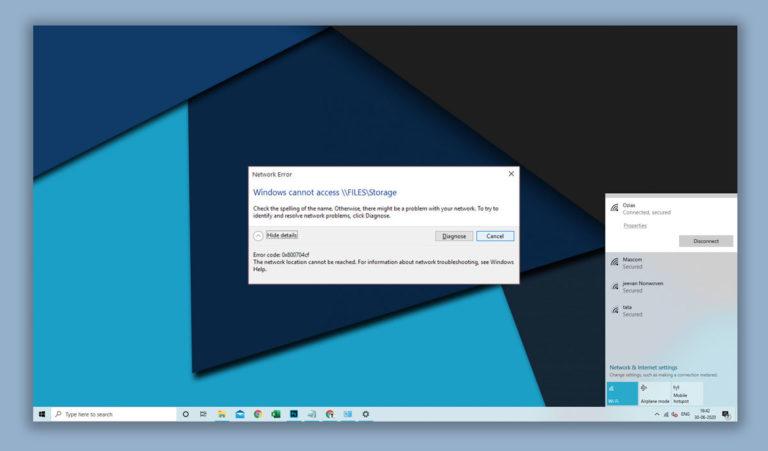 How to Fix Error Code 0x800704cf