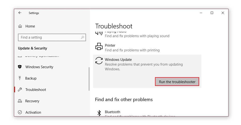 windows update error 0x80070424