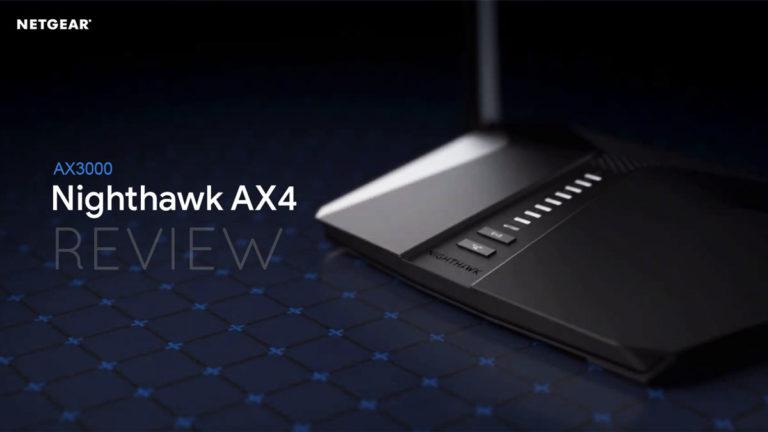 Netgear Nighthawk AX3000 (AX4) Review