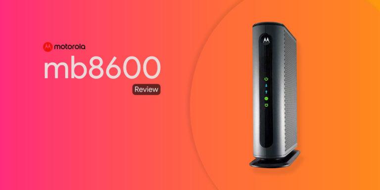 Motorola MB8600 Review – Should you buy it?