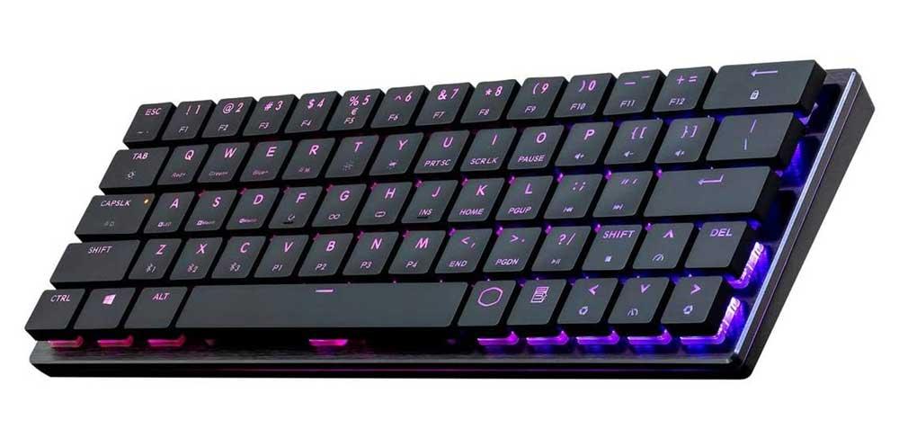 Cooler Master Sk-621 60% Low Profile Mechanical Keyboard