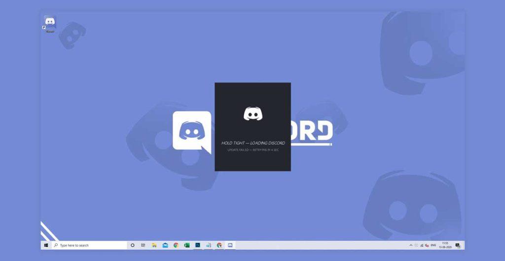 Discord Update Failed Loop Windows 10