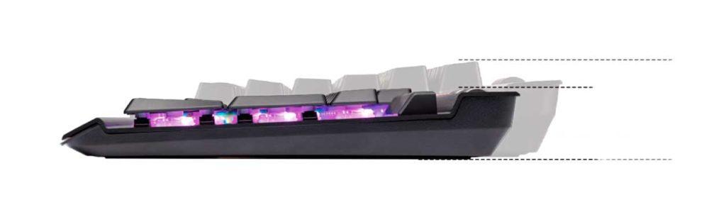 Low Profile Keyboard
