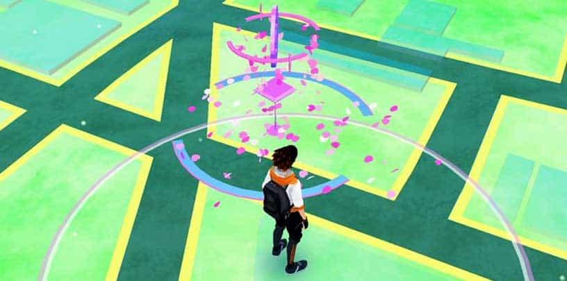 Pink Leaves Pokemon GO