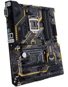 ASUS TUF Z370 Plus Gaming Best Z370 Motherboard