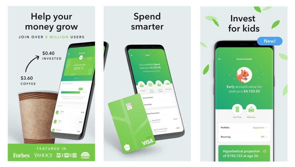 Acorns Best Investment App