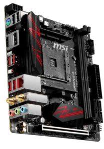 MSI B450I GAMING PLUS AC Best Motherboard for Ryzen 5 3600
