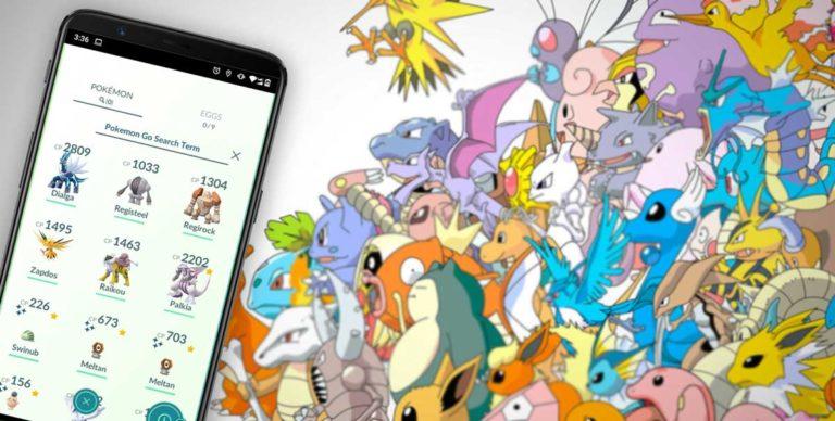 Pokemon GO Search Terms & Strings (Full List)