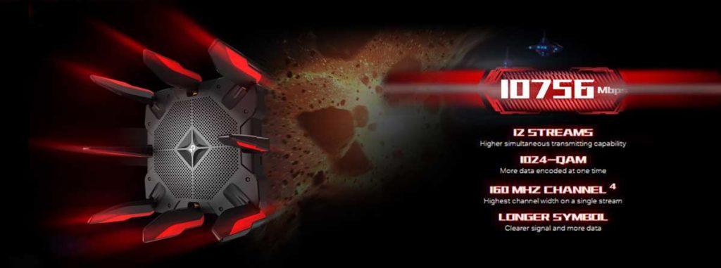 Tp-link AX11000 Speed