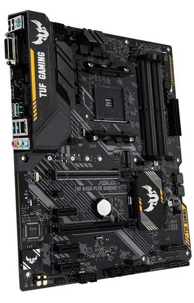 ASUS TUF B450-PLUS AMD Ryzen 7 2700x Motherboard
