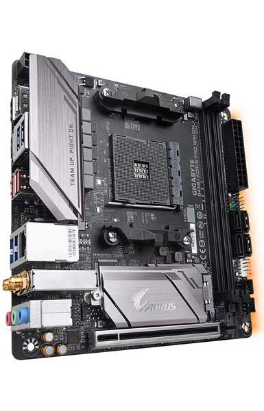 Gigabyte B450I AORUS PRO WIFI Best Motherboard for Ryzen 7 2700x