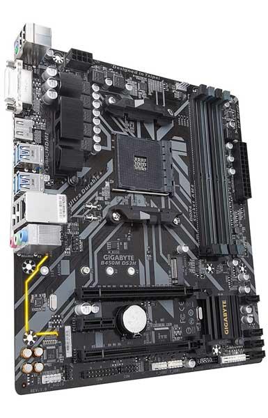 Gigabyte B450M DS3H Motherboard for Ryzen 7 2700x